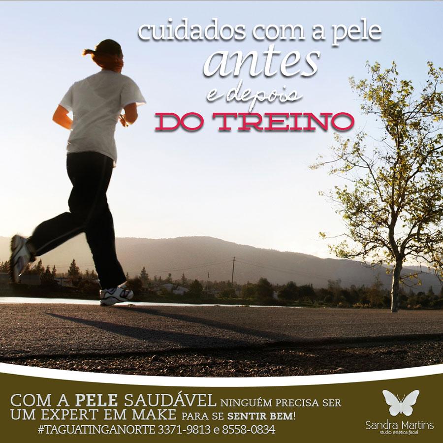 Brasília hoje virou o templo das corridas de rua! Sem dúvida é maravilhoso para a saúde! Mas você sabe cuidar da pele do rosto antes e após corrida? Saiba!