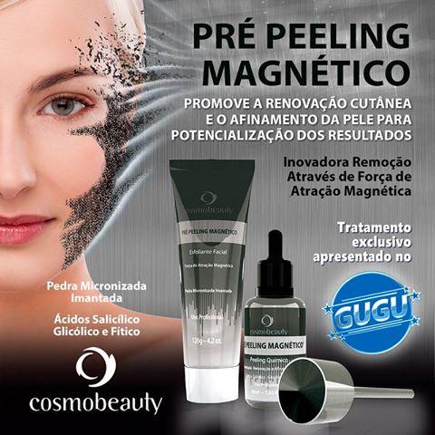 Pré-Peeling Magnético em Brasília é um pré-peeling químico renovador com propriedades antioxidantes e clareadoras