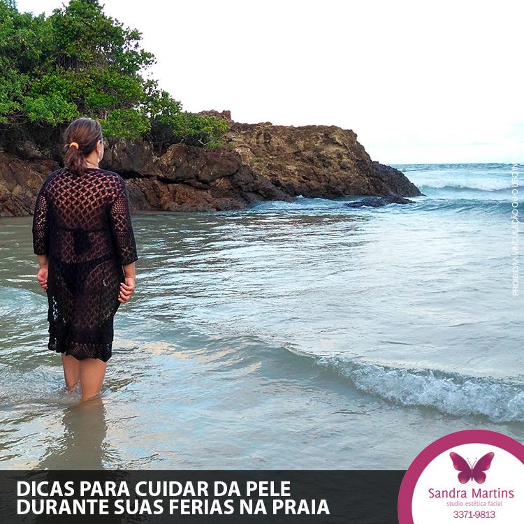 Janeiro e fevereiro sãos os meses de muitos aproveitarem suas férias na praia, mas lembre-se não esqueça dos cuidados para não ter melasma ao retornar!
