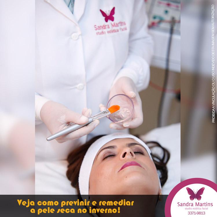 Estudo comprova que a pele fica mais seca no inverno: veja como prevenir e remediar com as dicas do Studio Sandra Martins de Estética Facial Taguatinga