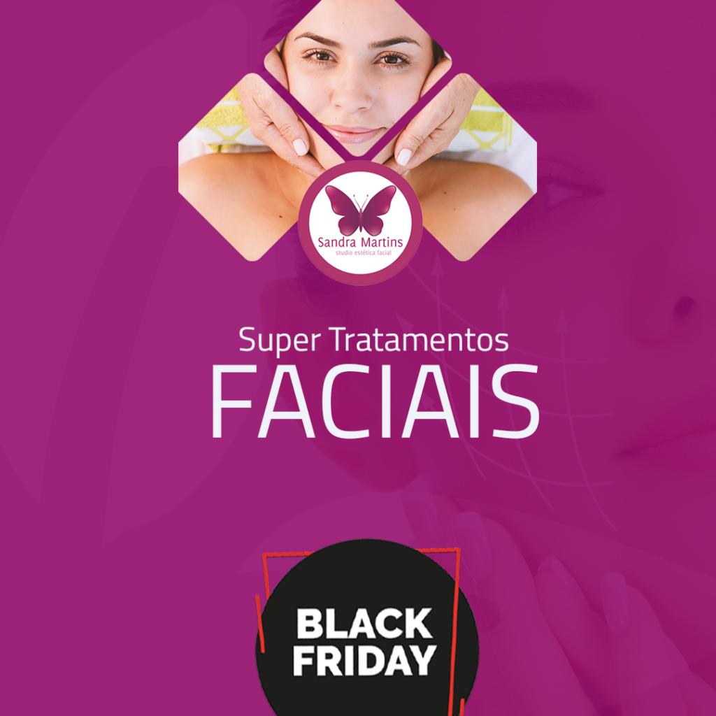 A BLACK FRIDAY do Studio Sandra Martins já começou! Estética facial de qualidade e com aquele mega desconto de Black Friday em Brasília e Taguatinga! Hidratação facial