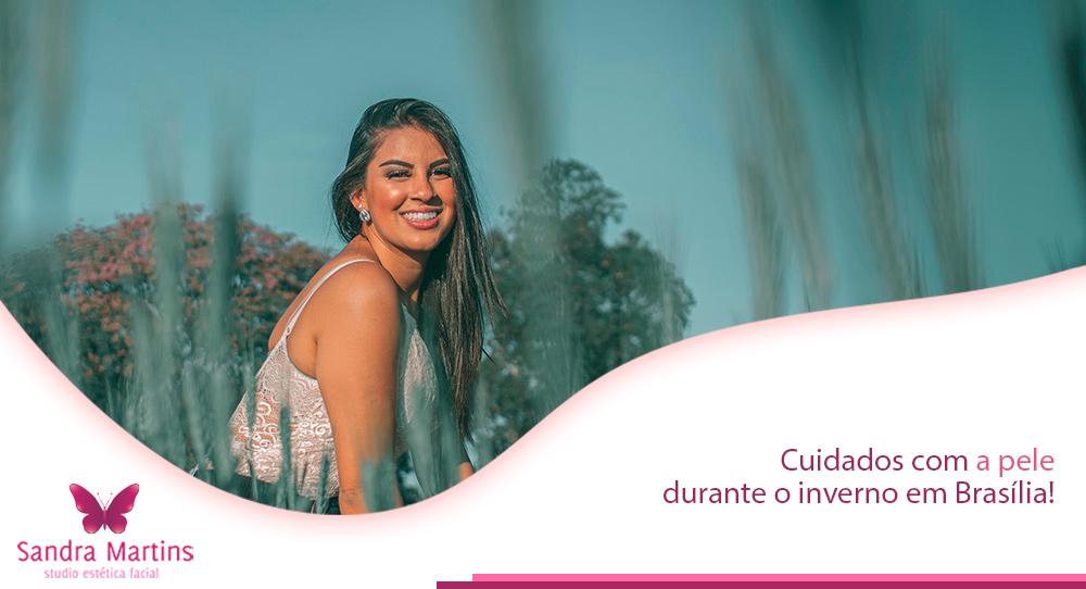 A limpeza de pele é um dos principais cuidados que você pode ter durante o inverno seco em Brasília. Confira as dicas do Studio Sandra Martins